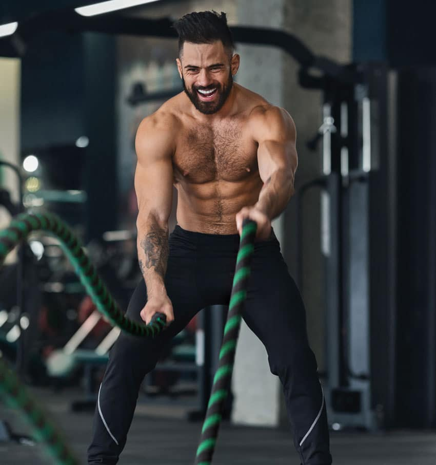 Battle rope workout - Stepz Fitness