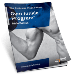 Male Gym Junkie Program